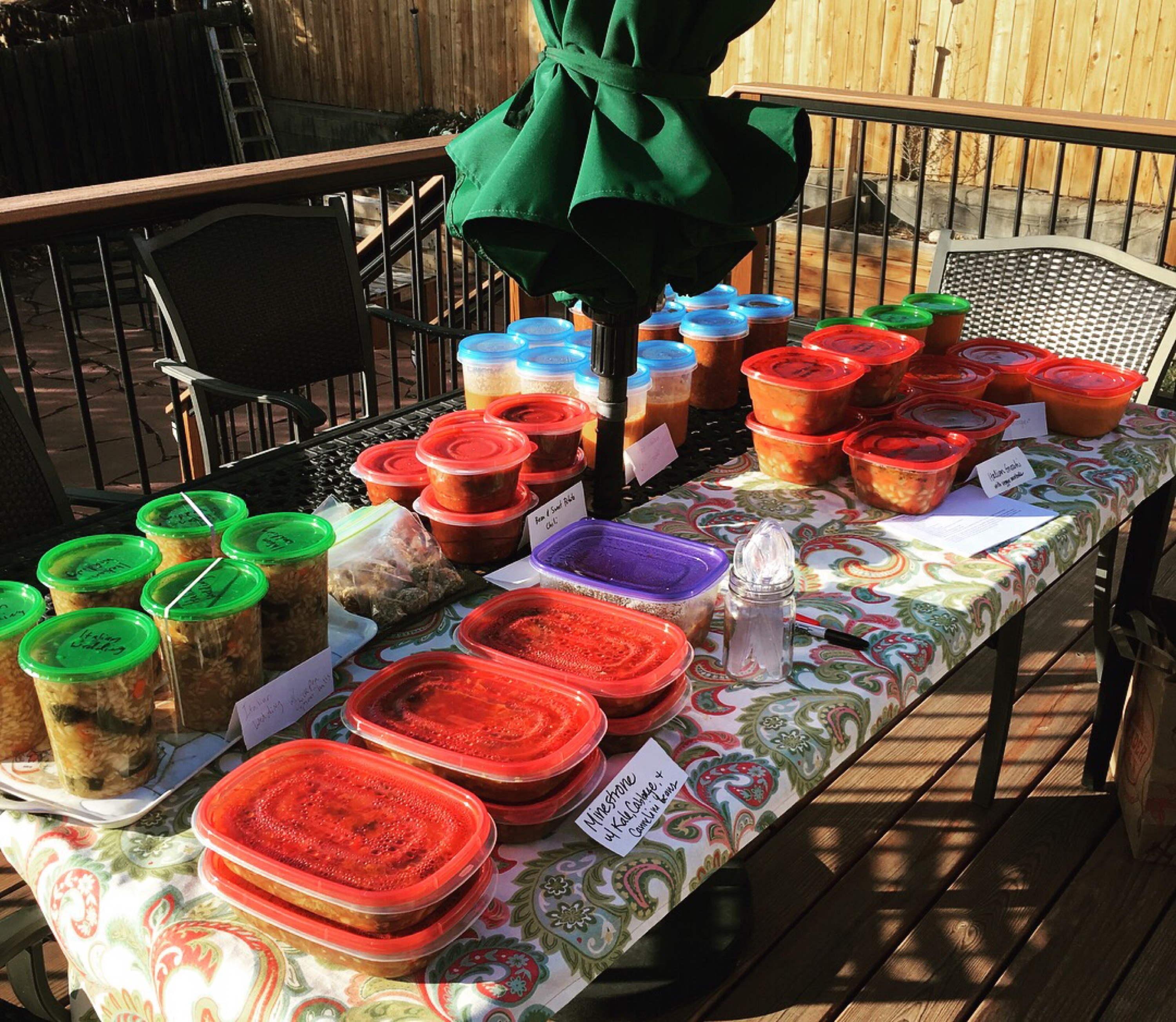 Plant-Based Soup Swap Event